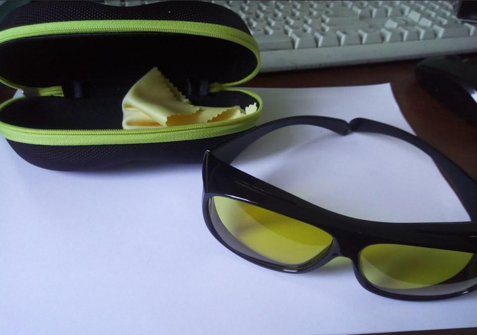Антиблик очки чехол