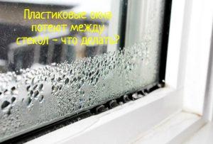 Пластиковое окно запотело