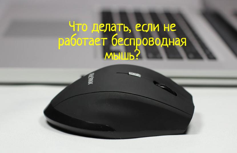 Не работает беспроводная мышка – что делать?