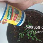 Биогард от сорняков – инструкция по применению