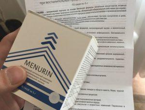 Менурин препарат