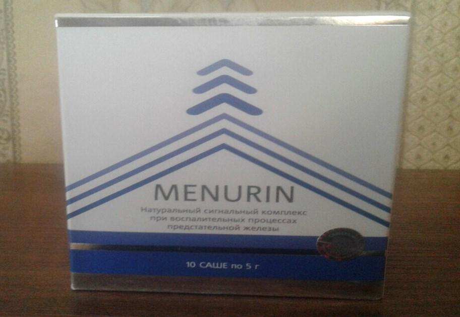 Менурин упаковка
