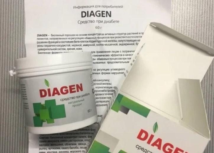 Диаген инструкция