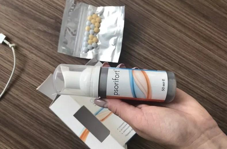 Псорифорт от псориаза – отзывы и рекомендации по применению