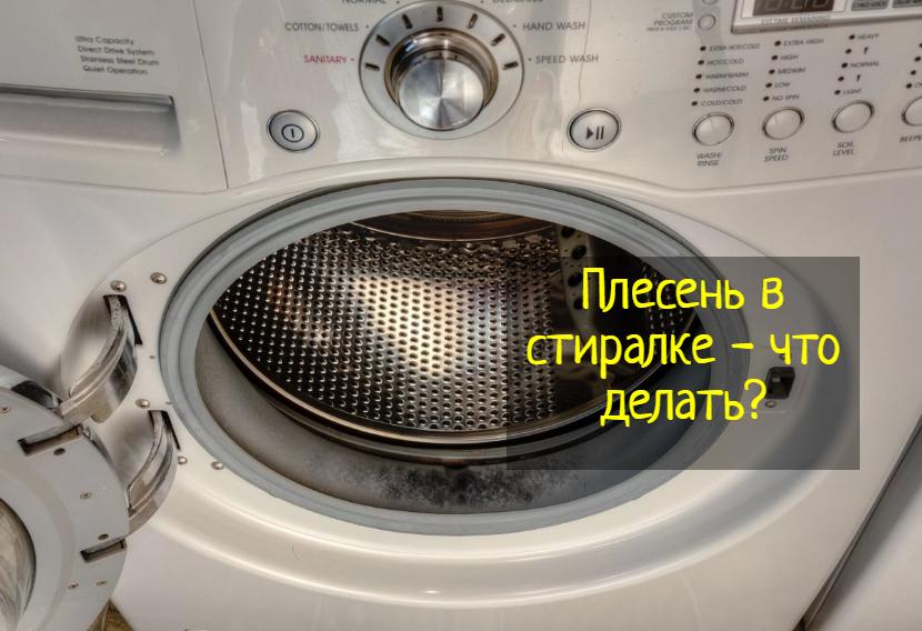 Плесень в стиральной машине — что делать?